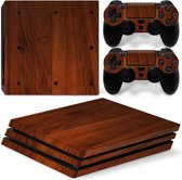 Wood Elegant - PS4 Pro Console Skins PlayStation Stickers