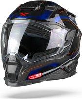 Nexx X.WST2 Supercell Black Blue  Integraalhelm - Motorhelm - Maat L