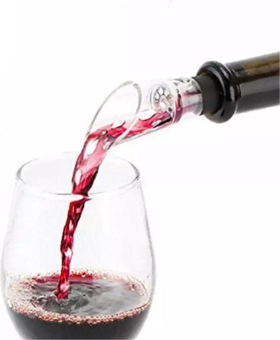 Wijndecanteerders | Wijnbeluchters | Wijnschenkers | Wit Rode Wijn Beluchter | Schenktuit Flessenstop Decanter Schenker Beluchten