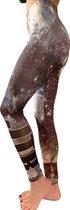 jtb-store - high waist sport legging yogalegging dames  - fantasy print  - maat 3XL