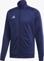 Adidas Core 18  Sportvest Heren - Dark Blue/White - Maat L
