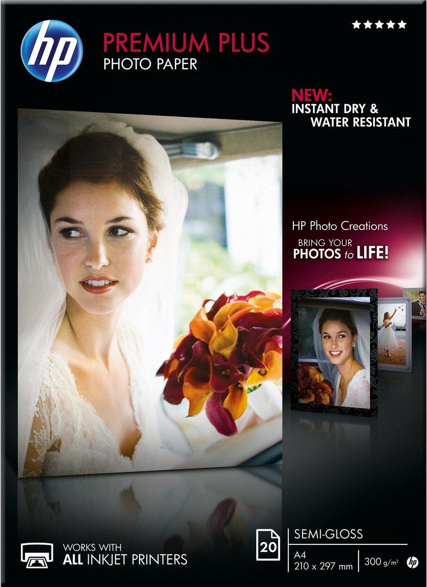 HP Premium Plus Fotopapier - A4 / Semi Gloss - HP