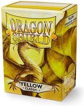 Dragon Shield Card Sleeves: Standard Yellow (63x88mm) - 100 stuks