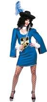 Musketiers jurkje | Musketier Lexa | Maat 40-42 | Carnaval kostuum | Verkleedkleding