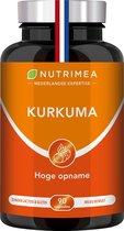 KURKUMA - Zwarte peper – Ontstekingsremmer – Antioxidant - NUTRIMEA - 90 caps