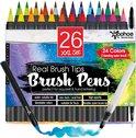 26 Set stiften penseelstiften - brush - pennen