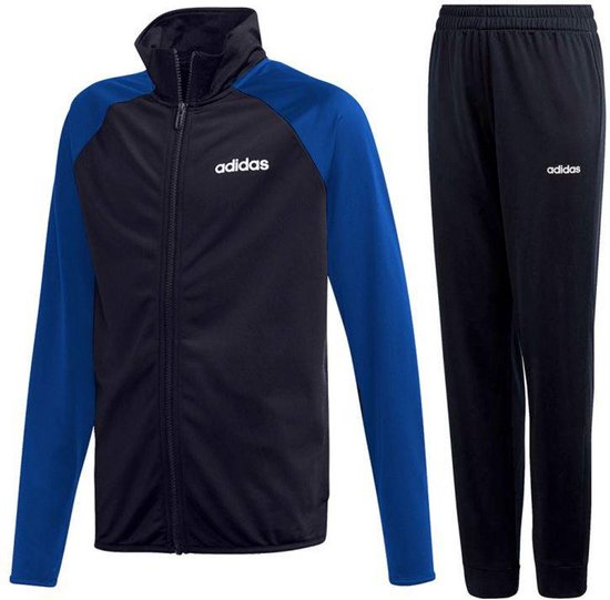 Adidas TS ENTRY Jongens Trainingspak - Legend Ink/Blue - Maat 164