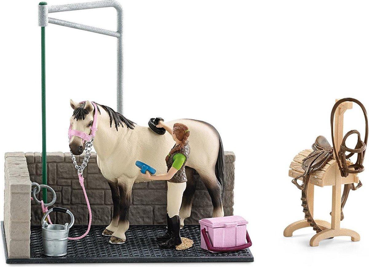 Schleich - Horse Club - Wasbox Voor Paarden - 42104