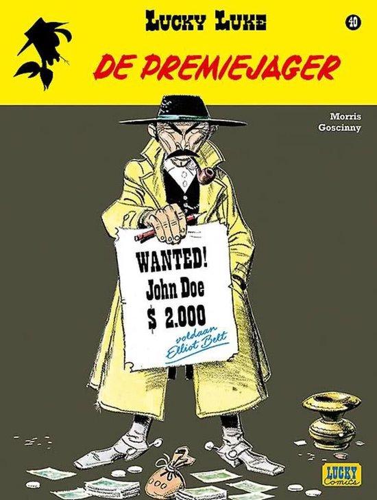 Stripboeken Stripboek Lucky Luke 40 de Premiejager - Morris |