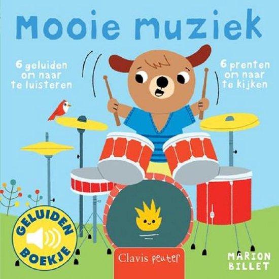 Boek cover Mooie muziek van Marion Billet (Hardcover)