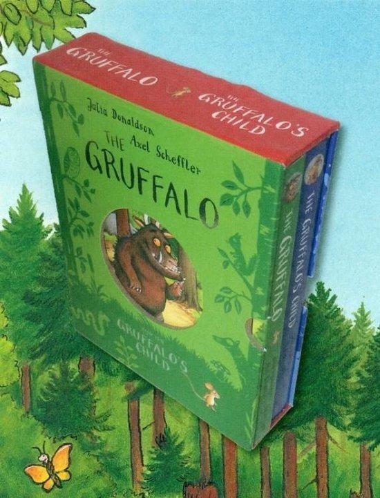 De Gruffalo / Het kind van de Gruffalo kartonboekjes in cassette - Julia Donaldson  