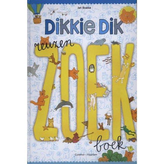 Boek cover Dikkie Dik - Reuzenzoekboek van Jet Boeke (Hardcover)