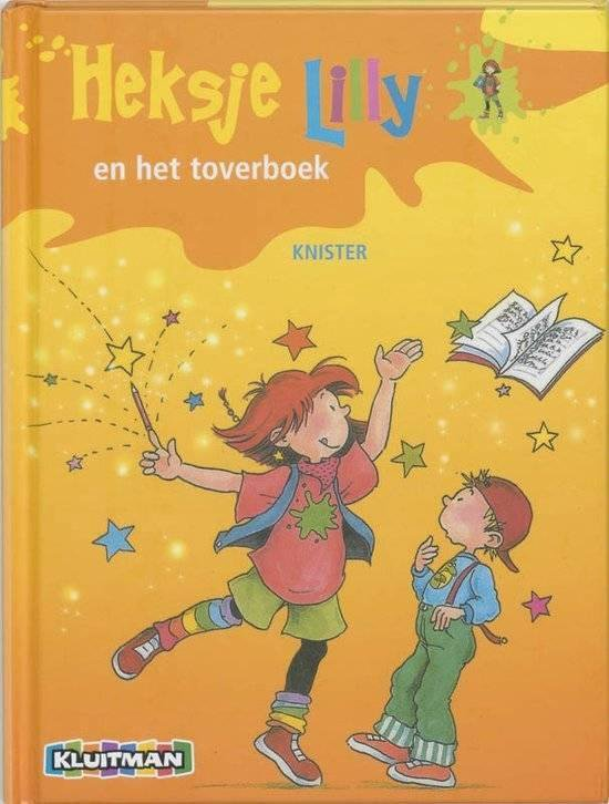 Heksje Lilly - Heksje Lilly en het toverboek - Knister pdf epub