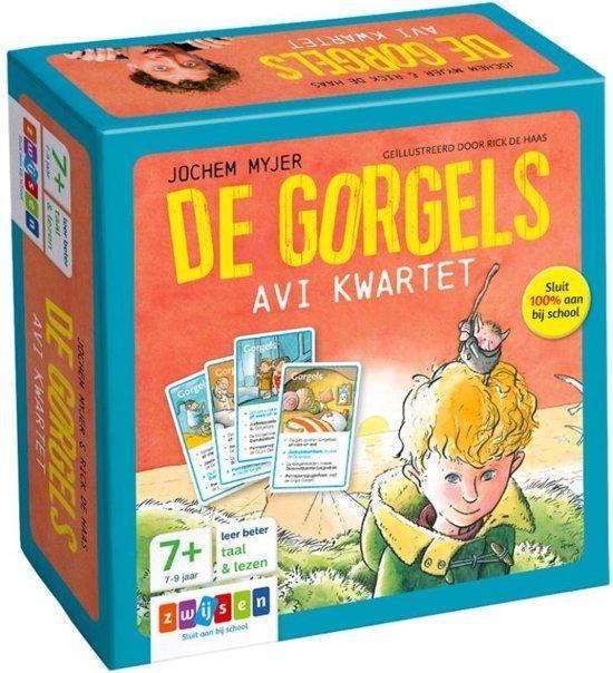 Boekomslag voor De Gorgels - AVI kwartet