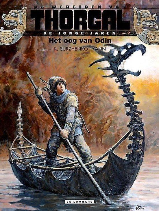 Cover van het boek 'Thorgal, jonge jaren 02. het oog van odin'