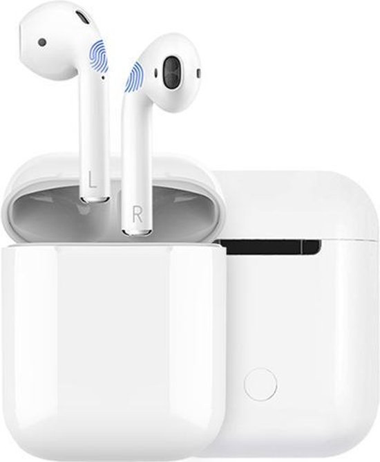 Draadloze Oordopjes Met Oplaadcase - Wit - Bluetooth - Gymston - PRO II - Gymston