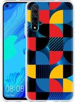 Huawei Nova 5T Hoesje Abstract Pattern