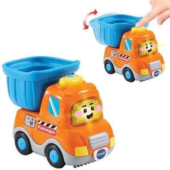 VTech Toet Toet Auto's Kevin Kiepwagen - Speelfiguur
