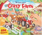 Create Your - Crazy Farm Sticker Book (0410745)