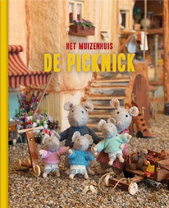 Boek cover Het Muizenhuis  -   De picknick van Karina Schaapman (Hardcover)