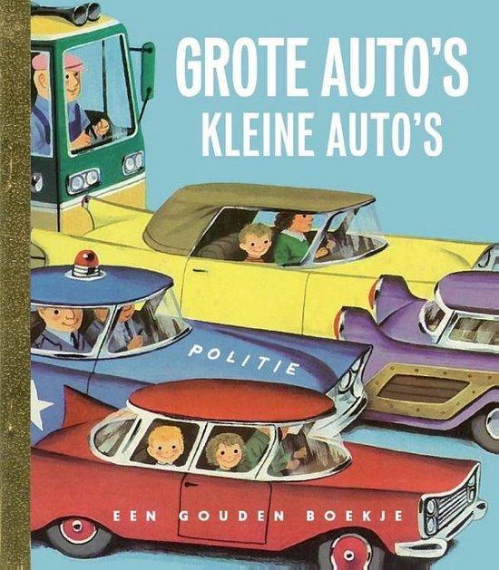 Boek cover Gouden Boekjes - Grote autos kleine autos van Richard Scarry (Hardcover)