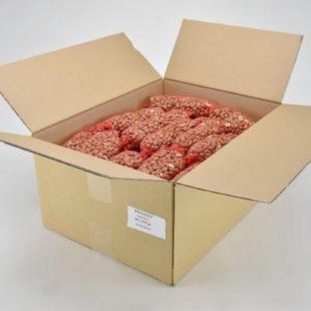 Volle doos met 60 pindanetjes
