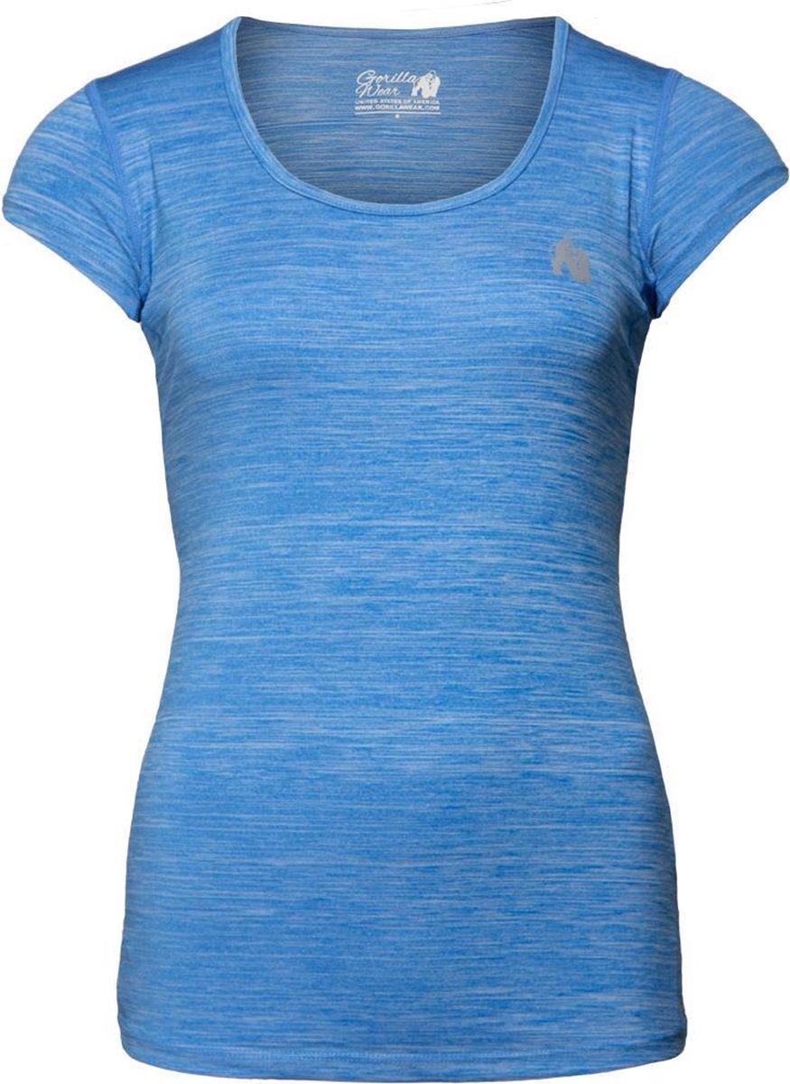 Gorilla Wear Cheyenne T-shirt - Blauw