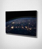 World Canvas   80x120 cm