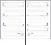 Bureau Agenda 2020 RYAM  1 week op 2 pagina's  - ZWART