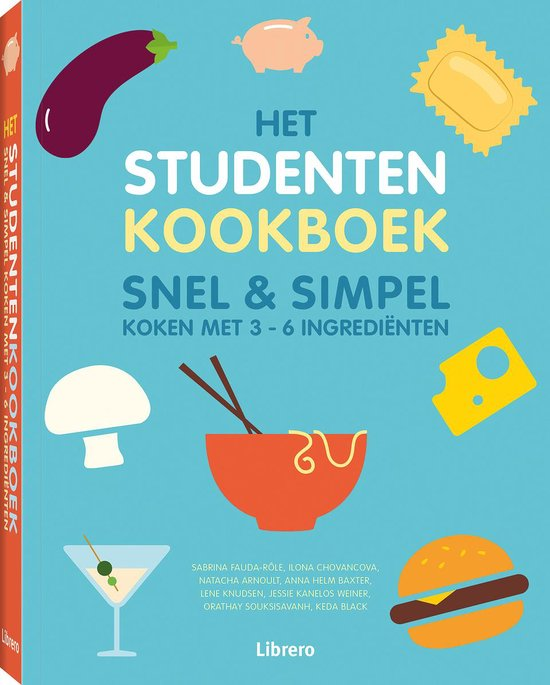 Het studentenkookboek - Snel & simpel - Natacha Arnoult | Readingchampions.org.uk