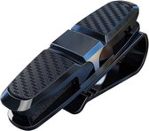 Zonnebril houder Auto -makkelijk & efficient - zonneklep- multifunctionele opberg-clip - visitekaartjes & zonnebrilhouder - Sunglas Visor
