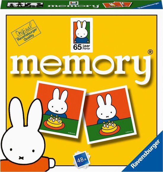 Afbeelding van het spel Ravensburger 65 jaar nijntje mini-memory®