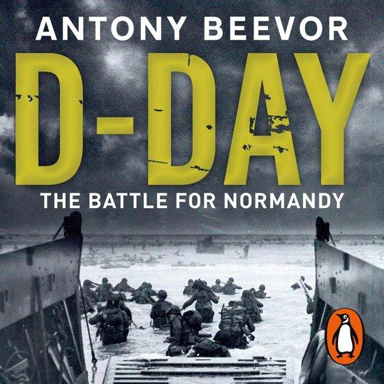 Boek cover D-Day van Antony Beevor (Onbekend)