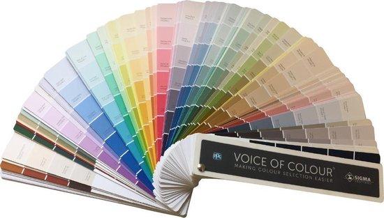 Sigma Voice Of Colour Kleurenwaaier / kleurstaal
