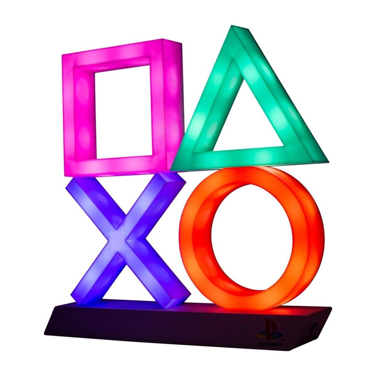 Paladone Playstation Logo Nachtlamp - Icon Light  - 3D Lamp - LED Licht