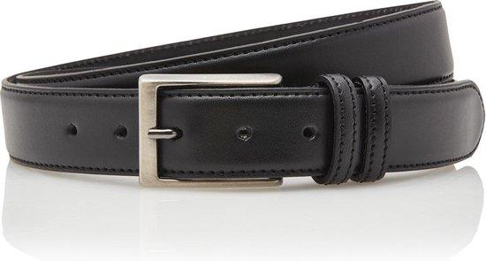 Timbelt 3,5 cm zwarte pantalon riem 35577 – Maat 105 – Totale lengte riem 120 cm