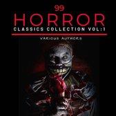 99 Classic Horror Short Stories, Vol. 1