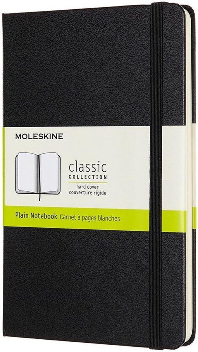 Moleskine Notizbuch Medium, Blanko, Schwarz