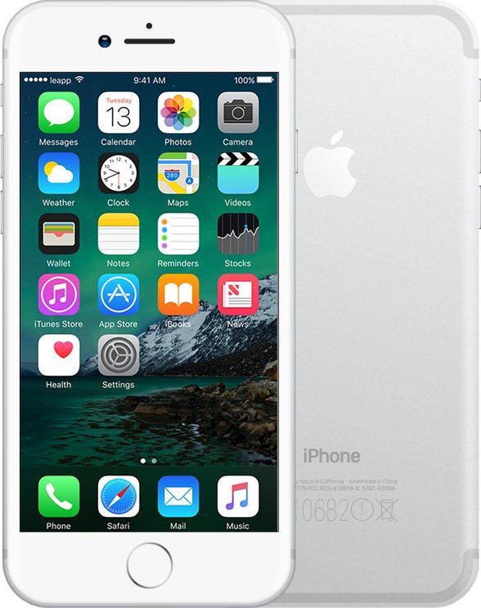 Apple iPhone 7 - Refurbished door Leapp - B grade (Lichte gebruikssporen) - 128GB - Zilver