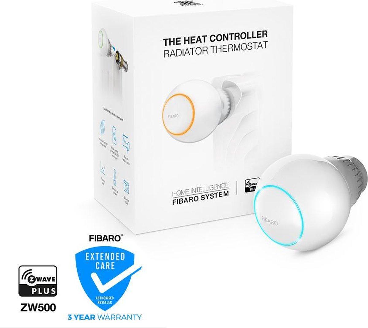 FIBARO The Heat Controller - Slimme thermostaankraan - Werkt met Z-Wave