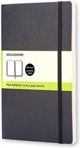 Moleskine Classic Notitieboek Soft Cover - Large - Zwart - Blanco