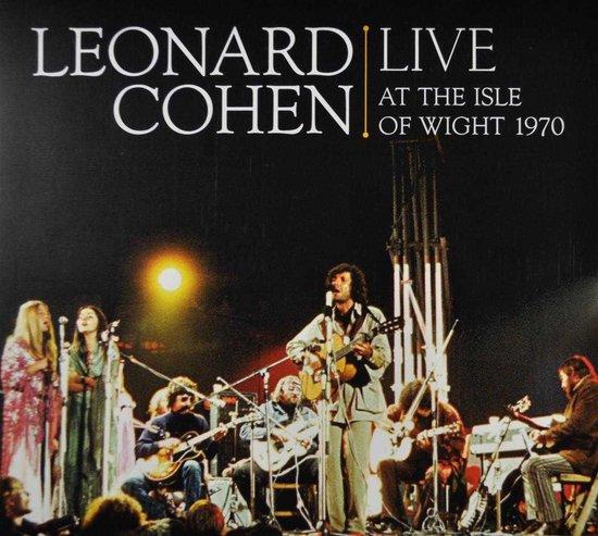 CD cover van Live At The Isle Of Wight 1970 (DVD+CD) van Leonard Cohen