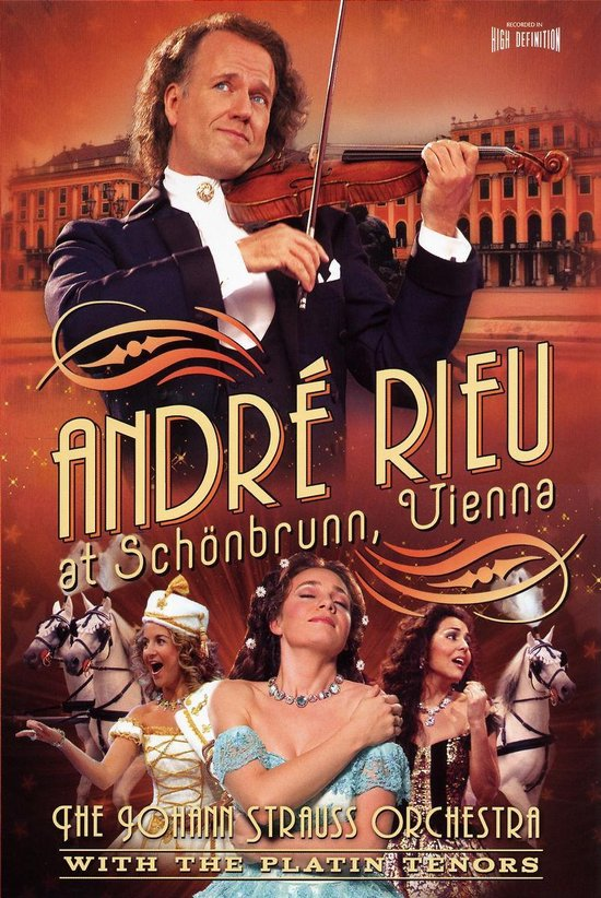 CD cover van Andre Rieu - Schonbrunn Vienna van André Rieu