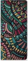 Sony Xperia 5 Hoesje met Magneet Aztec