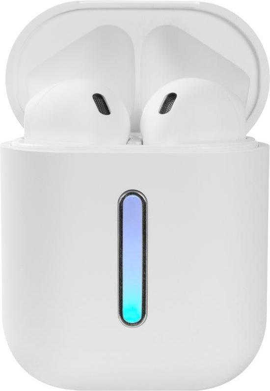Afbeelding van TWS Draadloze Oordopjes – Bluetooth – Geschikt voor Apple en Android - Wit