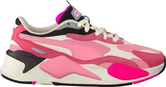 Puma RS-X3 Puzzle Sneakers Dames - Sportschoenen Roze - Maat 36