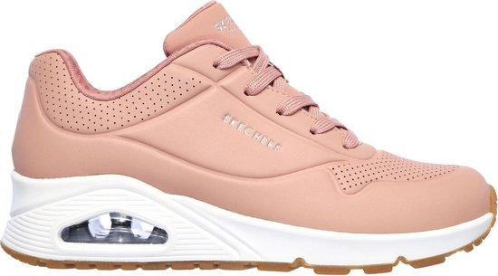 Skechers Uno Stand On Air Sneakers Maat 40 Vrouwen rozewit