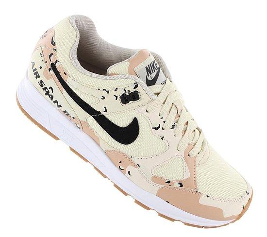Nike Air Span II PRM Premium - Desert Camo - Heren Sneakers Sportschoenen Schoenen AO1546-200 - Maat EU 40.5 US 7.5