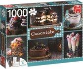 Chocolade Puzzel Premium Collection met 6 recepten 1000 Stukjes