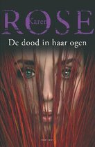 Boek cover De dood in haar ogen van Karen Rose